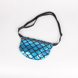 Yesello Women Waist Bag Pack Belt Mermaid Purse Multi Functional Waist Pouch  Evening Fish Scale Storage Bags Money Phone Pouch b4cc7a31c391