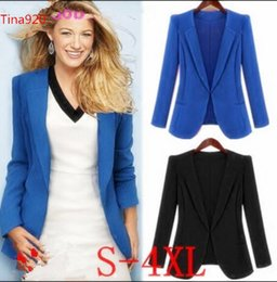 blazers NZ - woman business suit coat 8colors Women's Suits & Blazers free shipping women blazer ladies blazers jackets coat