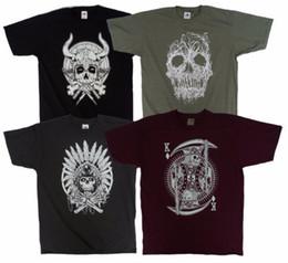 $enCountryForm.capitalKeyWord Australia - 4 pack Skull Set, great value gift set, four cool skull design mens t shirts