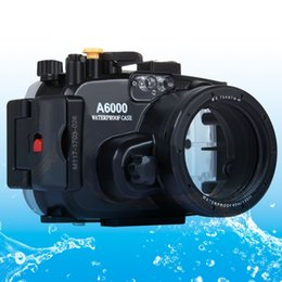 $enCountryForm.capitalKeyWord Australia - For Sony A6000 case 40m  130ft Diving Waterproof Camera Case Bag Housing For Sony A6000 Camera Holster