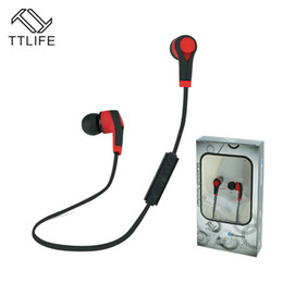 Buy Wholesale Phone UK - Buy 2 Get 1$ ! TTLIFE Bluetooth Headset Wireless Earphone Headphone Bluetooth Running Stereo Earbuds with Mic for Xiaomi Phone