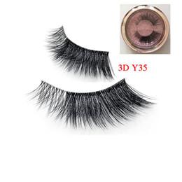 $enCountryForm.capitalKeyWord Australia - Silk Eyelashes 3D Silk Protein 3D Y35 Lashes Luxury Hand Made faux mink False Eyelashes Cruelty Free Lashes winged eyelash3d lashes
