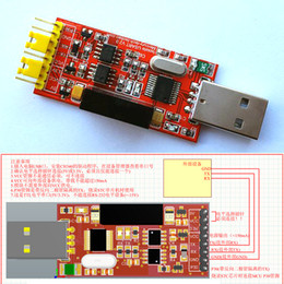 rs232 usb module Canada - Freeshipping 1500V 2Mbps USB to TTL CH340 STC RS232 high-speed serial isolation module 5V   3.3V