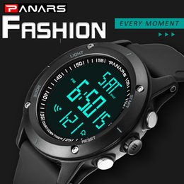 Wholesale PANARS Diving Water Resistant Watches Men Hour Climbing Countdown Timer Digital Watch LED Back Light Wrist Watch Male