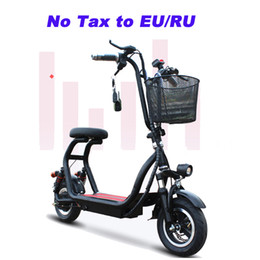 $enCountryForm.capitalKeyWord NZ - 10inch Electric bike lithium battery bicycle adult pedal scooter mini two round folding bike Double disc brake electric bike
