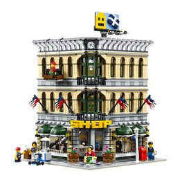 Grand models online shopping - New Bricks City Grand Emporium Model Superstore Building Blocks Kits Brick Toy Lepin Compatible In Stock