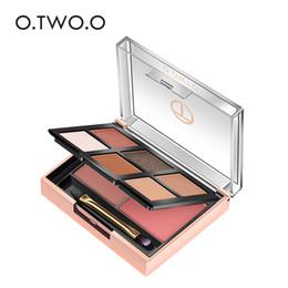 One Palette Australia - Matte Eyeshadow Palette Make Up Shimmer Eye Shadow In One Palette Shimmer Blush Cosmetics Kit With Makeup Brushes#