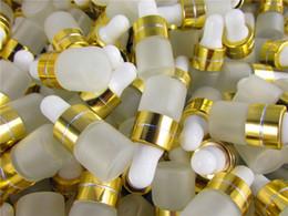 50 pçs / lote 1 ml 2 ml 3 ml Frascos De Óleo Essencial de Perfume Frasco De Vidro Frasco Conta-gotas Frascos Frascos Com Pipeta Para Cosméticos venda por atacado