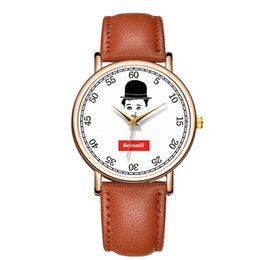 Chinese  BAOSAILI Fancy Wrist Watches Lovely Character Chaplin Men's Watch Relojes Stainless Steel Back Watches Man Male Clock B-9159 manufacturers