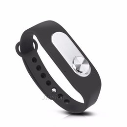 Hour recorder online shopping - Portable Audio Sound Voice Recorder GB Hours Recording Wearable Wristband Digital Sports Bracelet Pen Interview Meeting