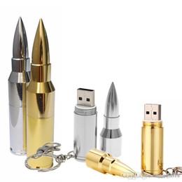 U Disk 128gb Flash Drive NZ - Fantastic 4GB-128GB hot sell Metal Bullet USB 2.0 Flash Pen Drive Memory Stick Thumb Storage U Disk CGYG U27