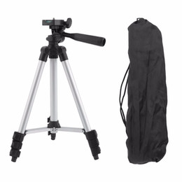 Dslr Camera Tripods Australia - Universal Aluminum Legs Tripod Stand 4 Sections Legs for DSLR SLR Digital Camera stand Camcorder With Bag