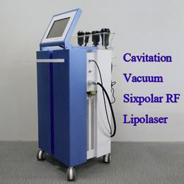 Cavitation rf vaCuum laser maChine online shopping - 5 In Liposuction Slimming Machine multipolar rf cavitation laser vacuum K Cavitation RF Radio Frequency For Weight Loss price