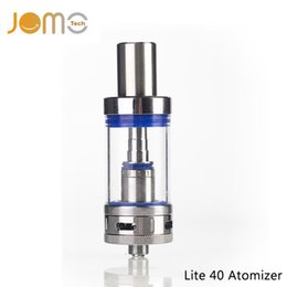 Chinese  JOMOTECH Pyrex Glass 4ml Rebuildable Vaporizer 0.5ohm 510 Thread Atomizer for All Lite 40 Tank Electronic Cigarette Kit Jomo-72 manufacturers