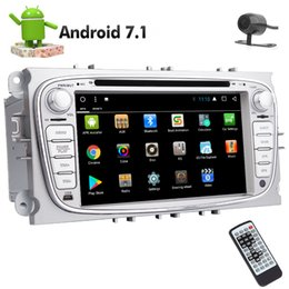 Ford Touch Screen Stereo Australia - Backup Camera EINCAR In Dash Double Din Car Stereo Android 7.1 8 Core in Dash Car DVD Player for Ford Autoradio Bluetooth