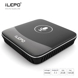 Android Tv Box 2gb Quad Canada - 50% Google Voice Control Android 7.1 TV Box Amlogic S905W Quad Core 2GB 16GB Google Free Moive With 2.4G Voice IR Remote Control TX3 MINI