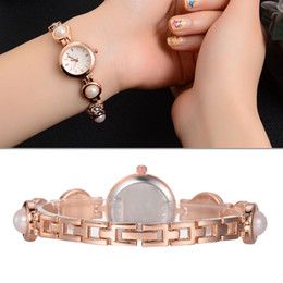 $enCountryForm.capitalKeyWord NZ - Pearl Bracelet Women Fashion Watch Quartz-Watches Casual Business Party Decorative Watch Women Apparel Decorative Accessories