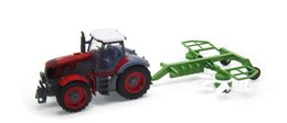 Toy Trucks Trailers UK - RC Truck 1:28 Fram tractor Multifunctional trailer ing machine toy for kids