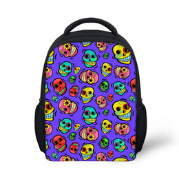 $enCountryForm.capitalKeyWord NZ - Small Children School Bags for Girls Boys Cool Skull Kindergarten Bookbags Cute Kids Schoolbag High Quality