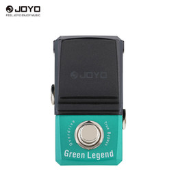 Effect Pedal Knobs Australia - JOYO JF-319 Green Legend Overdrive Mini Electric Guitar Effect Pedal with Knob Guard with True Bypass