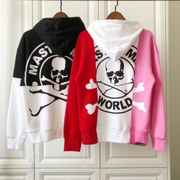 31696a7a Mastermind Japan Hoodie Women Men 1m:1 high quality Have Tag Patchwork Clothes  Sweatshirt Pullover Casual Mastermind Japan Hoodie