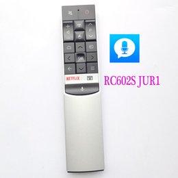Neue Original RC602S JUR1 Für TCL Voice Fernbedienung für TVS C70 X1 P60 X2 Serie UHD Serie Android TV Fernbedienung U49 / 75/55/65