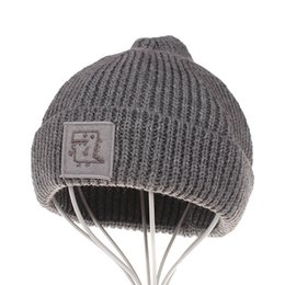 $enCountryForm.capitalKeyWord Australia - Fashion Baby Hats 5 Solid Color Knitted Baby Winter Hat Crochet Boys Girls Unisex Toddler Beanie Hat 18091001
