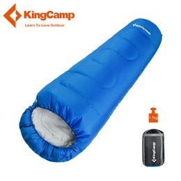 $enCountryForm.capitalKeyWord Australia - KingCamp Mummy Sleeping Bag Waterproof Ultralight Outdoor Lazy Bag Camping Travel Hiking Adult Sleeping Bags 3 Season C18110601