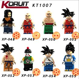 Dragon Ball Z Anime Action Figures Goku Vegeta Violett Krillin Building  Blocks Bricks Cartoon Toys for Children KT1007 91ef7c723fc0