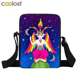 $enCountryForm.capitalKeyWord Canada - Hail Satan   Baphomet   666 Mini Messenger Bag Small Crossbody Bags for Women Handbag Men Shoulder Bag Boys Book Kids Gift