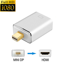 $enCountryForm.capitalKeyWord Australia - Full HD 1080p Mini DisplayPort (Thunderbolt) dp to HDMI Adapter Gold Plated Male to Female Converter Adaptor for Macbook Air Pro Microsoft