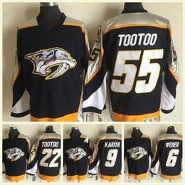 Mens CCM Vintage NHL 2001 Nashville  22  55 Jordin Tootoo 21 Forsberg 9  Kariya 44 Timonen 6 Weber Blank Navy Blue Hockey Jerseys 4afc01104