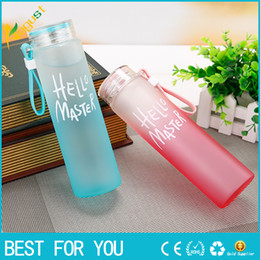 glasses for climbing NZ - New Hot My Bottle Drinking Bottle Shaker Multi Color Popular Bottle For Water bottles Readily With Lid