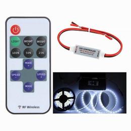 $enCountryForm.capitalKeyWord NZ - Mini Wireless RF Single Color LED Dimmer DC 5V 12V 24V 11Key Remote Controller For LED Strip 5050 3528 2835 5630 Control