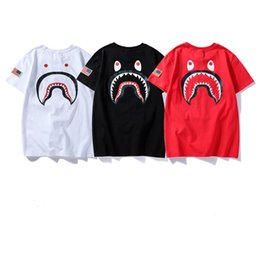 China 2018 High Quality APE Tshirts For Men Women Summer New Teenage Cartoon Character Printing T-shirt Leisure Round Neck Casual Short Sleeves supplier leisure cartoon suppliers
