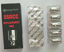 Vertical organic cotton coils kanger online shopping - Kanger SSOCC Vertical OCC Coils Big Size Organic Cotton Coil For KangerTech TopTank nano Topbox mini Subvod Kit