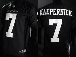 c6b2a0796 Mens IMWITHKAP Jersey 7 COLIN KAEPERNICK IM WITH KAP All Stitched Movie  Football Jerseys Cheap Black Free Shipping S-XXXL