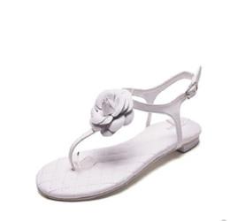 4035af85f85e6 Women summer sandals classic camellia Diamond lattice luxury Sexy hollow  Tie fashion brand Casual Travel vacation women flat sandals