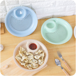 $enCountryForm.capitalKeyWord NZ - 1pcs Creative Wheat Straw Dumplings Dish Multifunction ECO Friendly Dumplings Plate Sauce Snack Dish Fruits Food Container 2 6ds Z