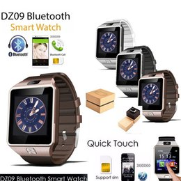 english language 2019 - Exquisite DZ09 SmartWatch Bluetooth phone Mate GSM Sport Watch For IOS Android Phones HTC Samsung Huawei Support Multi l