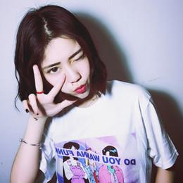 korean shirt style for women 2019 - Women's T-shirts Ulzzang Harajuku Style Lovely Sailor Girl Loose Girlfriend T-shirt Summer Female Korean Kawaii Tun