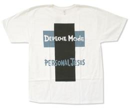 $enCountryForm.capitalKeyWord UK - Depeche Mode Cross Personal Jesus White T Shirt New Official Cute Tatoo Lover T-Shirt New 2017 Cotton Short-Sleeve T-Shirt