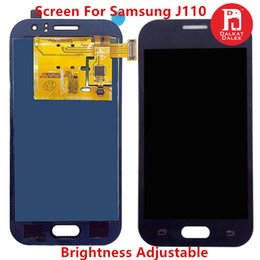 SamSung duoS touch Screen online shopping - J110 TFT For Samsung Galaxy J1 Ace J111 LCD Display Touch Screen Digitizer Assembly for J1 Ace Duos Can Adjust Brightness