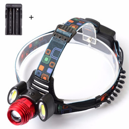 Cree head hunting lights online shopping - NEWEST Lumen CREE XM L T6 LED Headlamp Headlight Caming Hunting Head Light Lamp Modes AC Charger