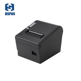 Internet Bluetooth NZ - 80mm thermal Internet receipt printer with cutter Support 80MM large diameter roll 3 inch lan printer