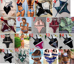 ladies lycra swimwear 2018 - 267 styles new arrivals Swimwear bikini sexy two pieces Triangle bikini Swimsuit lady sexy Swimsuit Padded bra Bikini fr