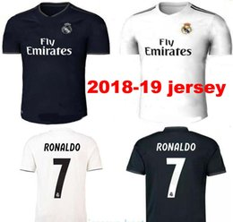 5cca0a299 New Real Madrid home white Soccer Jersey 18 19 Real Madrid away blue Soccer  shirt 2019 KROOS RONALDO ISCO ASENSIO BALE Football uniform