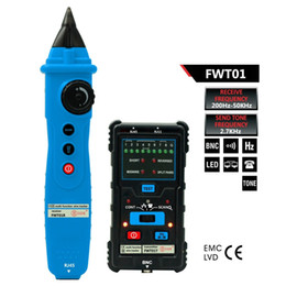 Wire finder tracker online shopping - Wire Tracker Multifunctional Handheld Network LAN Ethernet Finder Meter Telephone Line Cable Testing Tool Instrument FWT01