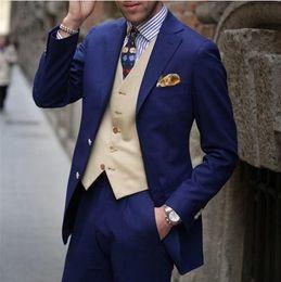 $enCountryForm.capitalKeyWord Canada - Custom Made advanced new arrival Mens Wedding Dress Groom Bridegroom suits Prom Clothing Groom Tuxedos (Jacket+Pants+Tie)