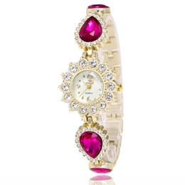 Beautiful luxury girls online shopping - Luxury Quartz Watches Brand Fashion Diamond Watches Beautiful Girl Women Bracelet Watch